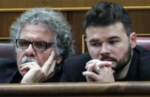 Tarda y Rufian en el Congreso de los Diputados