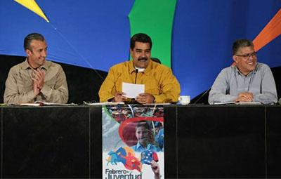 tarek-Elaissami-Nicolas-Maduro-Elias-jaua-caracas