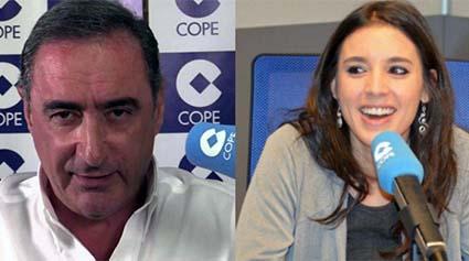 Carlos-Herrera-Irene-Montero
