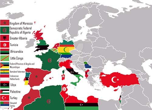 Union-europea-islam-mapa
