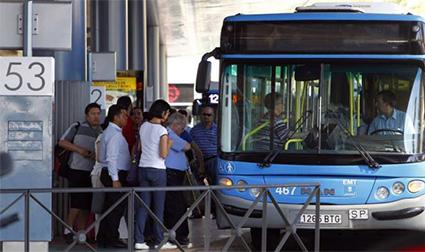autobús-madrid