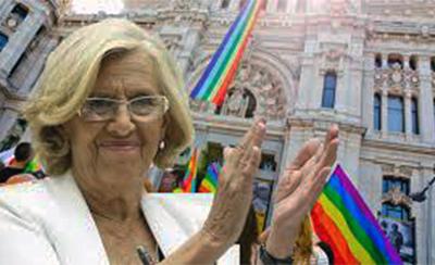 La alcaldesa comunista de Madrid, Manuela Carmena