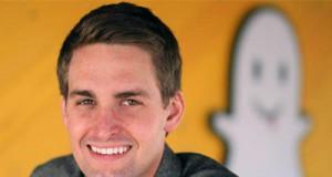 fundador de Snapchat Evan Spiegel