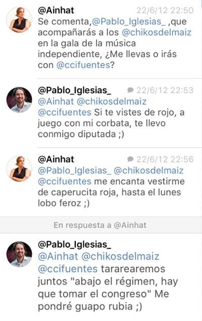 Twitter-Tania-Sanchez-Pablo-Iglesias-Podemos
