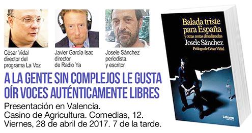 cartel-presentacion-libro-balada-triste-para-espana-josele-sanchez