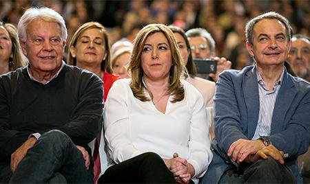 felipe-gonzalez-susana-diaz-zapatero-PSOE