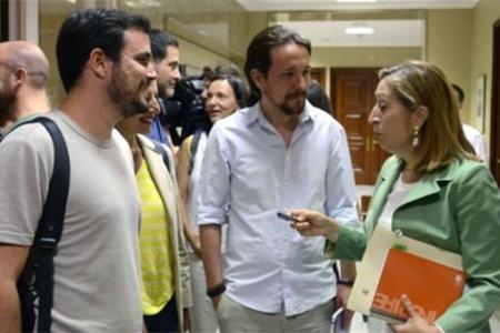 Ana-Pastor-Pablo-Iglesias-Alberto-Garzon