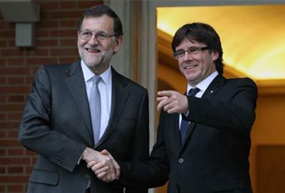 Carles-Puigdemont-Mariano-Rajoy