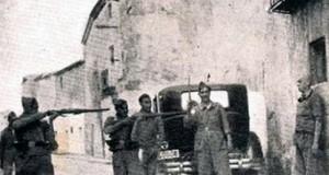 Milicianos fusilan a un preso