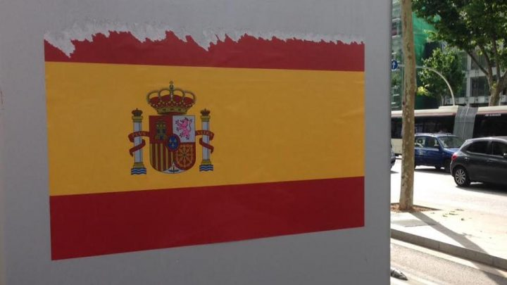 bandera-espana-barcelona