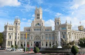 Palacio Comunicaciones Madrid