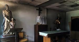 Atacada capilla Madrid