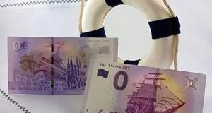 Billetes cero euros