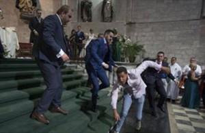 Musulmán ataca iglesia en Valladolid