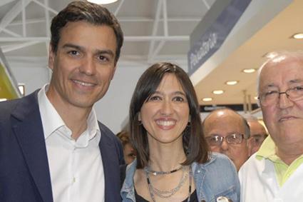 pedro-sanchez-nuria-parlon-PSOE