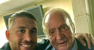 Sergio Ramos Rey Juan Carlos