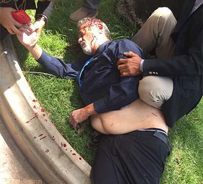 Diputado agredido Congreso Venezuela