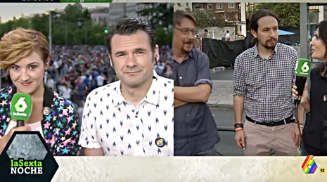 La Sexta Pablo Iglesias orgullo gay