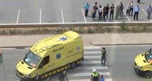 marroquia dispara policias