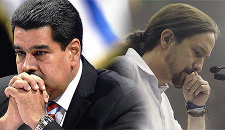 Pablo-Iglesias-Nicolas-Maduro