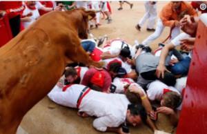 Pérez Reverte San Fermín