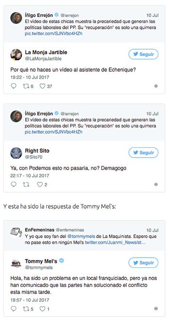 Errejón Podemos Twitter