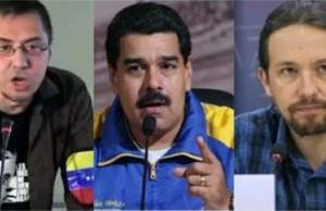 Monedero, Maduro e Iglesias