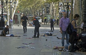 Atentado islamista Barcelona