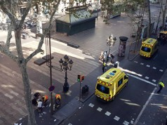 atropello furgoneta Barcelona