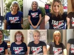 mujeres escándalo médico