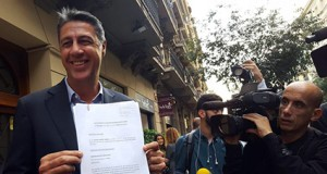 Xavier Albiol denuncia Puigdemon