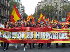 Barcelona en defensa de la Unidad de España