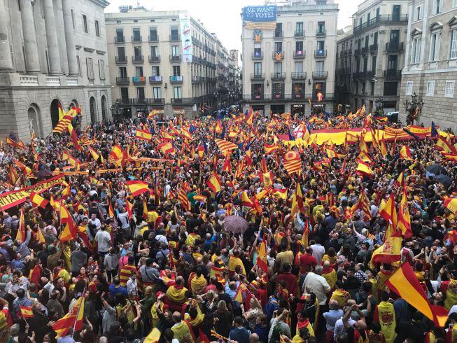 Barcelona Unidad de España