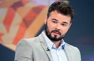 Diputados separatista, Gabriel Rufián
