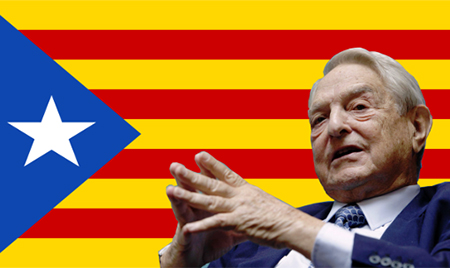 Bandera estelada George Soros