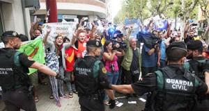 Guardia Civil en Cataluña