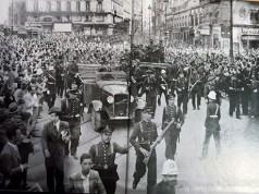 Manifestación Unidad de España Falange
