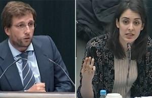 Martínez Almeida y Rita Maestre