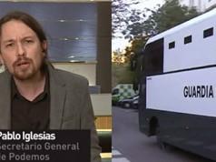 Pablo Iglesias y la Guardia Civil