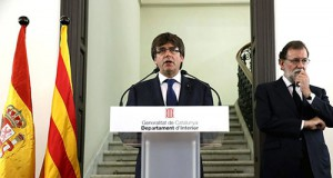 Puigdemont y Rajoy