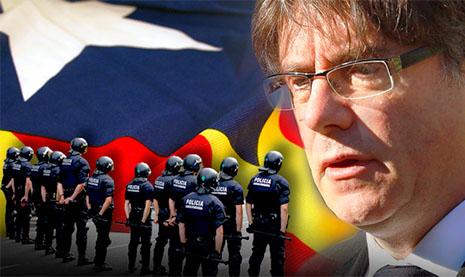 Detención de Carles Puigdemont
