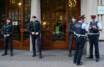 detenidos Guardia Civil Cataluña