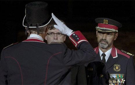 Carles Puigdemont detenido