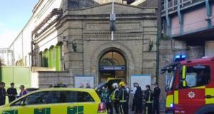 Explosión metro Londres