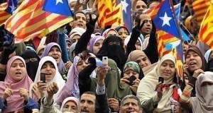 inmigrantes musulmanes cataluña