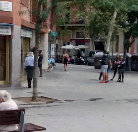 jóvenes separatistas Barcelona