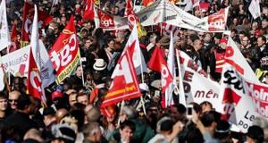 Manifestación reforma laboral Francia