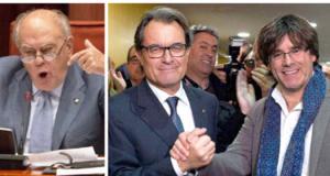 Pujol, Puigdemont, Artur Mas
