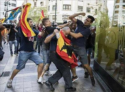 la extrema izquierda en Valencia