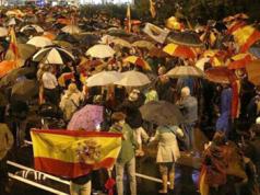 manifestacion Barcelona Unidad de Nacional de España
